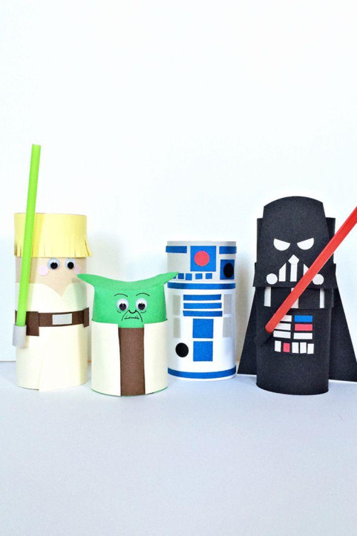 14 Fun Star Wars Crafts For Your Little Jedi Craft Ideas