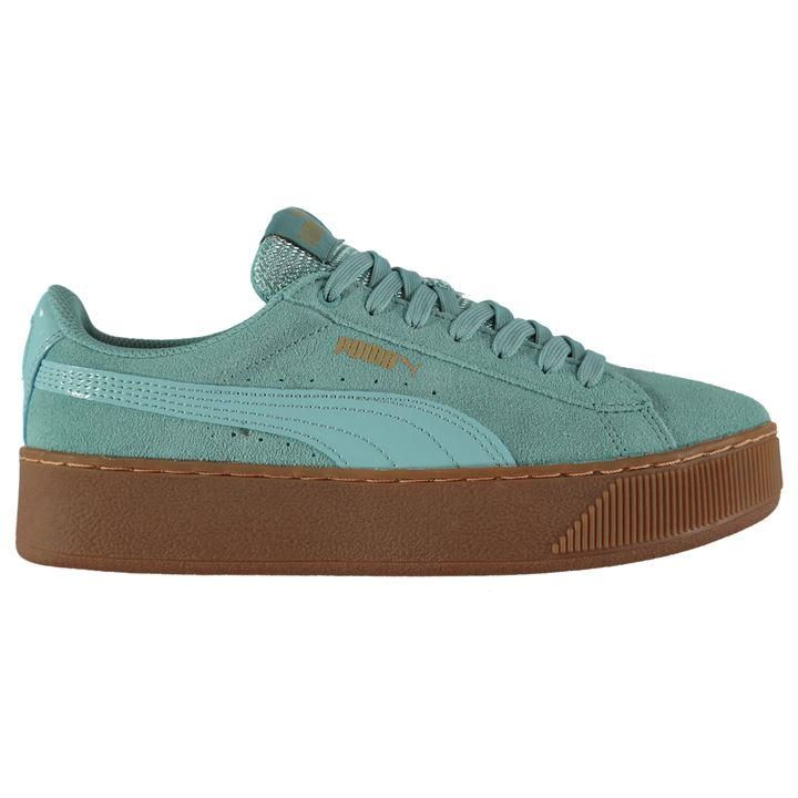 in stock good service new cheap Puma Vikky Suede Platform Ladies Trainers | s t y l e | Puma ...