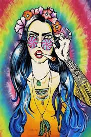 Resultado de imagem para hippie tumblr