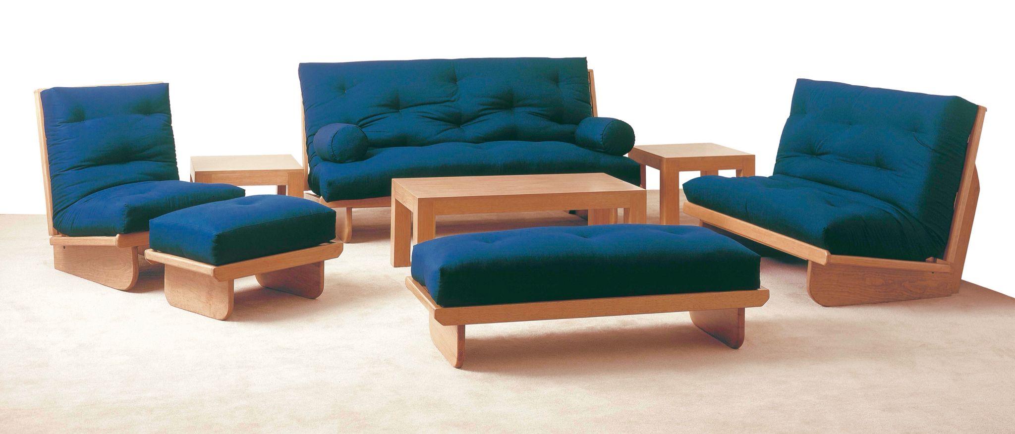 Salas completas que se hacen cama futon muebles for Sillones que se hacen cama