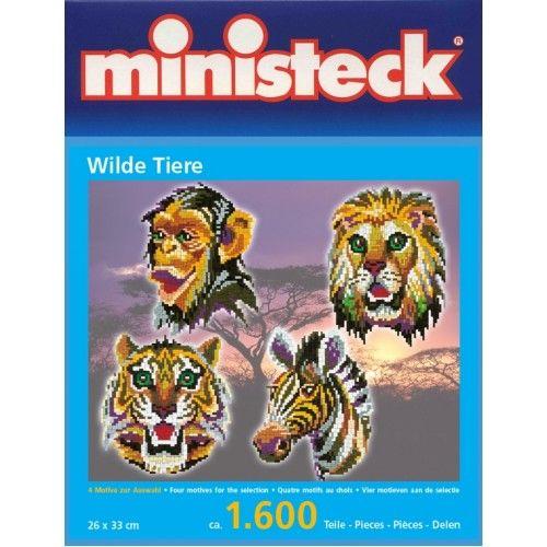 Ministeck Wilde Dieren 4 Motieven