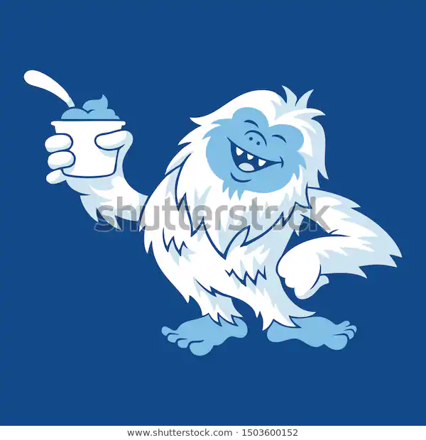 Find Yeti Icon Bigfoot Sign Abominable Snowman Stock Images In Hd And Millions Of Other Royalty Free Stock Photos Illu Bigfoot Illustration Yeti Mascot Design