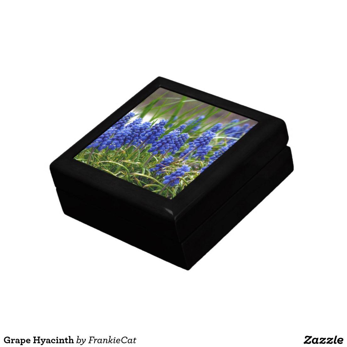 Grape Hyacinth Keepsake Box
