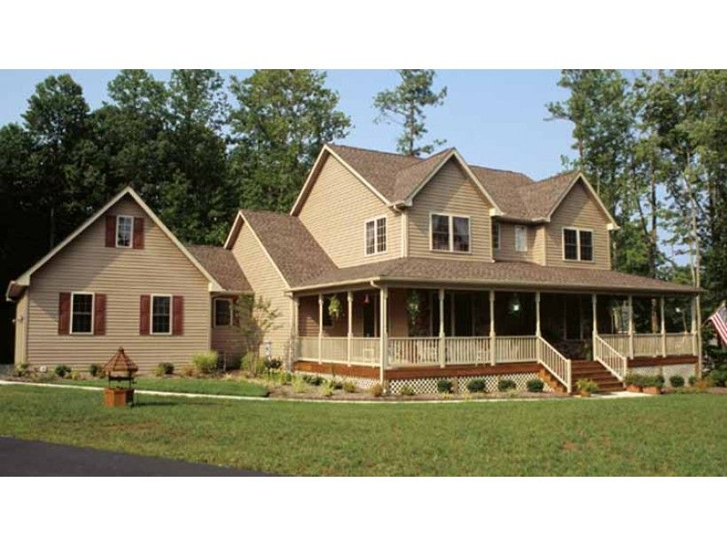 Farmhouse house plan with 2252 square feet and 4 bedrooms from dream home source house