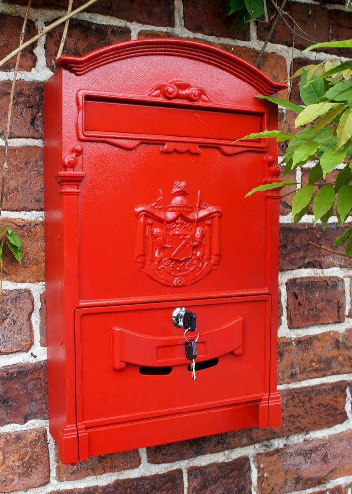 Moroccan Summer Red Dawson Lodge Post Box Post Box Wall Mounted Post Box Wall Design