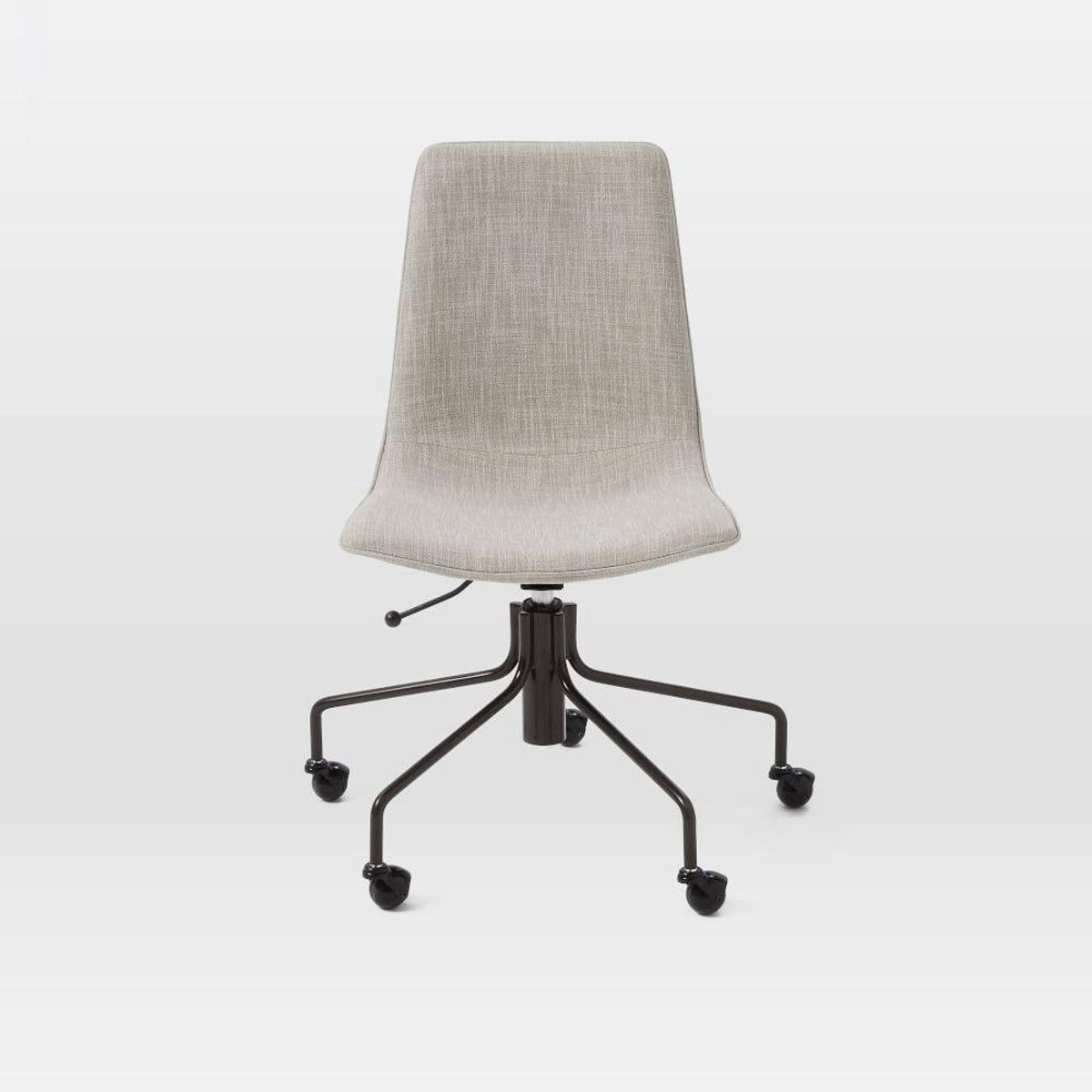 Slope Upholstered Office Chair West Elm Canada Chair Swivel
