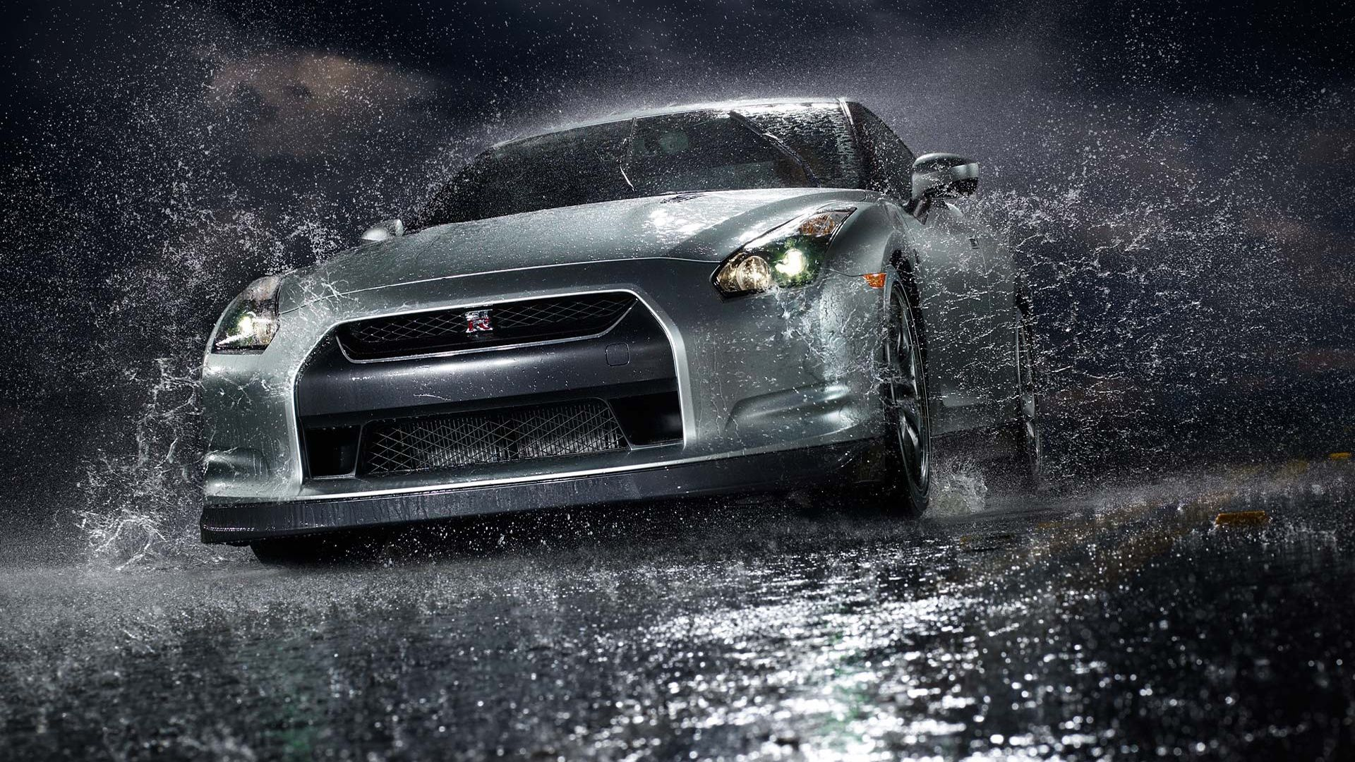 Gtr In The Rain Computer Background Autos, Automoviles