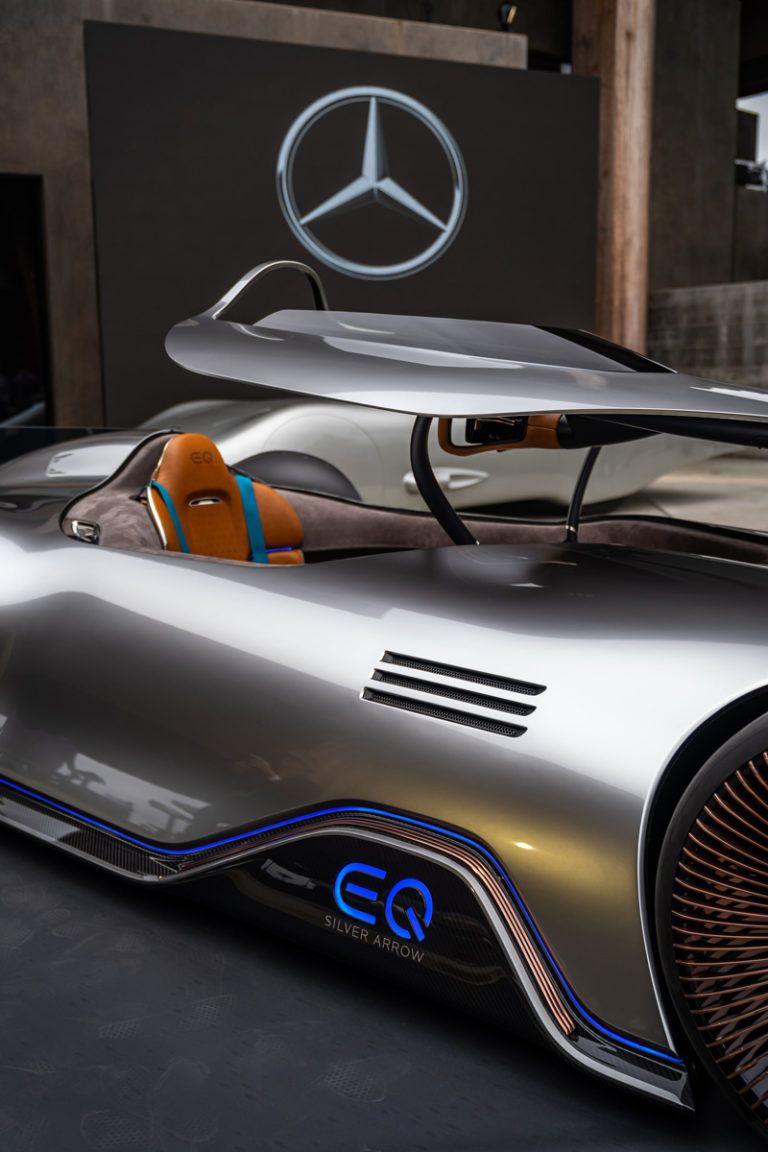 Mercedes Benz Vision Eq Silver Arrow Super Sport Cars Benz Concept Cars