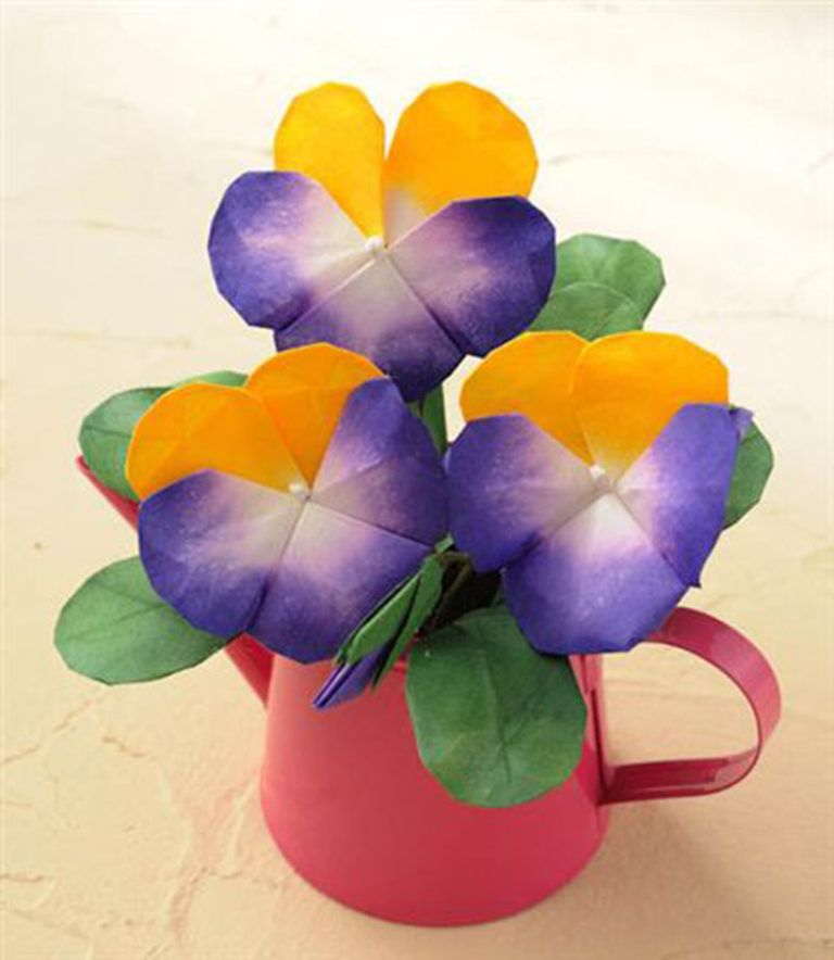 折り紙 立体 花 作品 簡単な作り方 難しい折り方 かわいい おしゃれ 折り紙 立体 花 折り紙 作品 折り紙