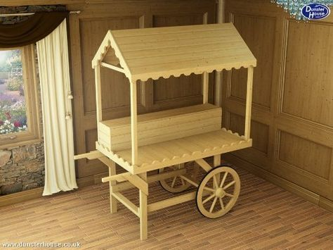 Pin By Sandra Allen On Build It Candy Cart Candy Stand Sweet Carts