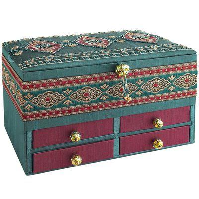 Beaded Jewelry Box-pier 1   Jewelry box, Beaded jewelry ...