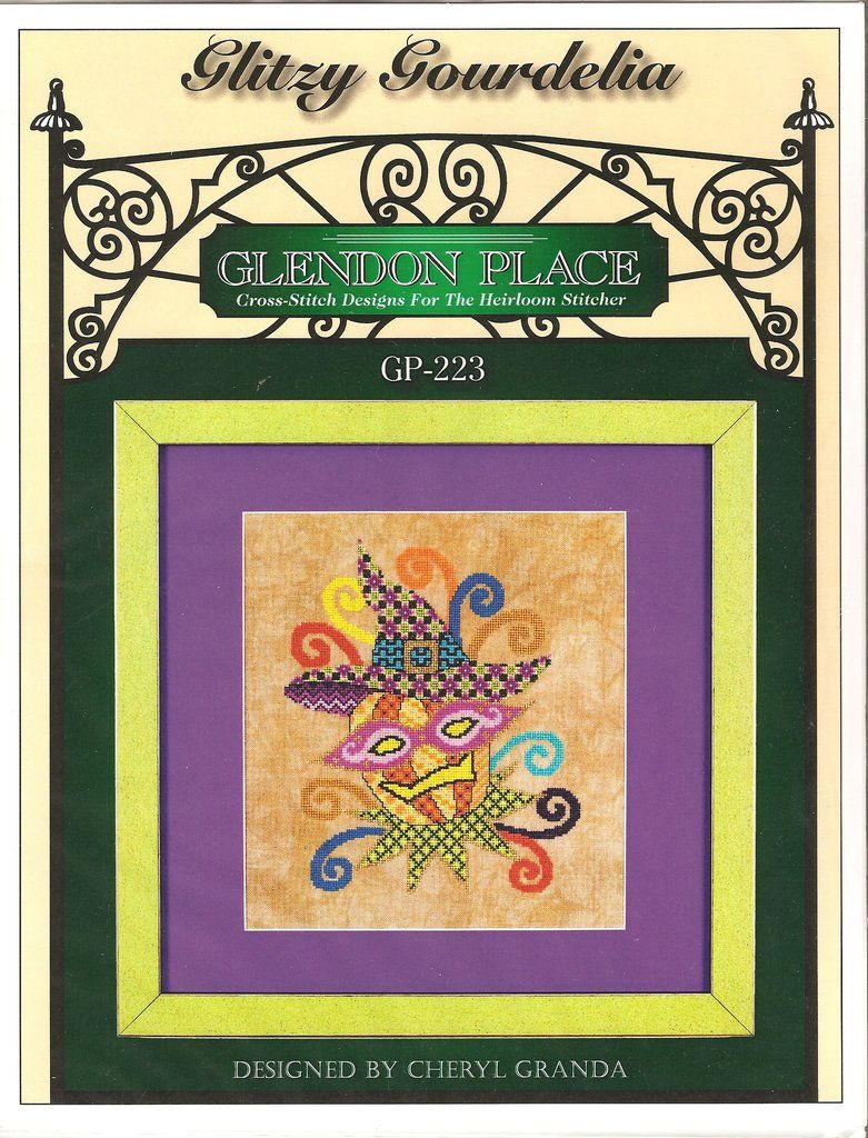 Glitzy gourdilia pattern stitch and patterns glitzy gourdilia pattern nvjuhfo Image collections