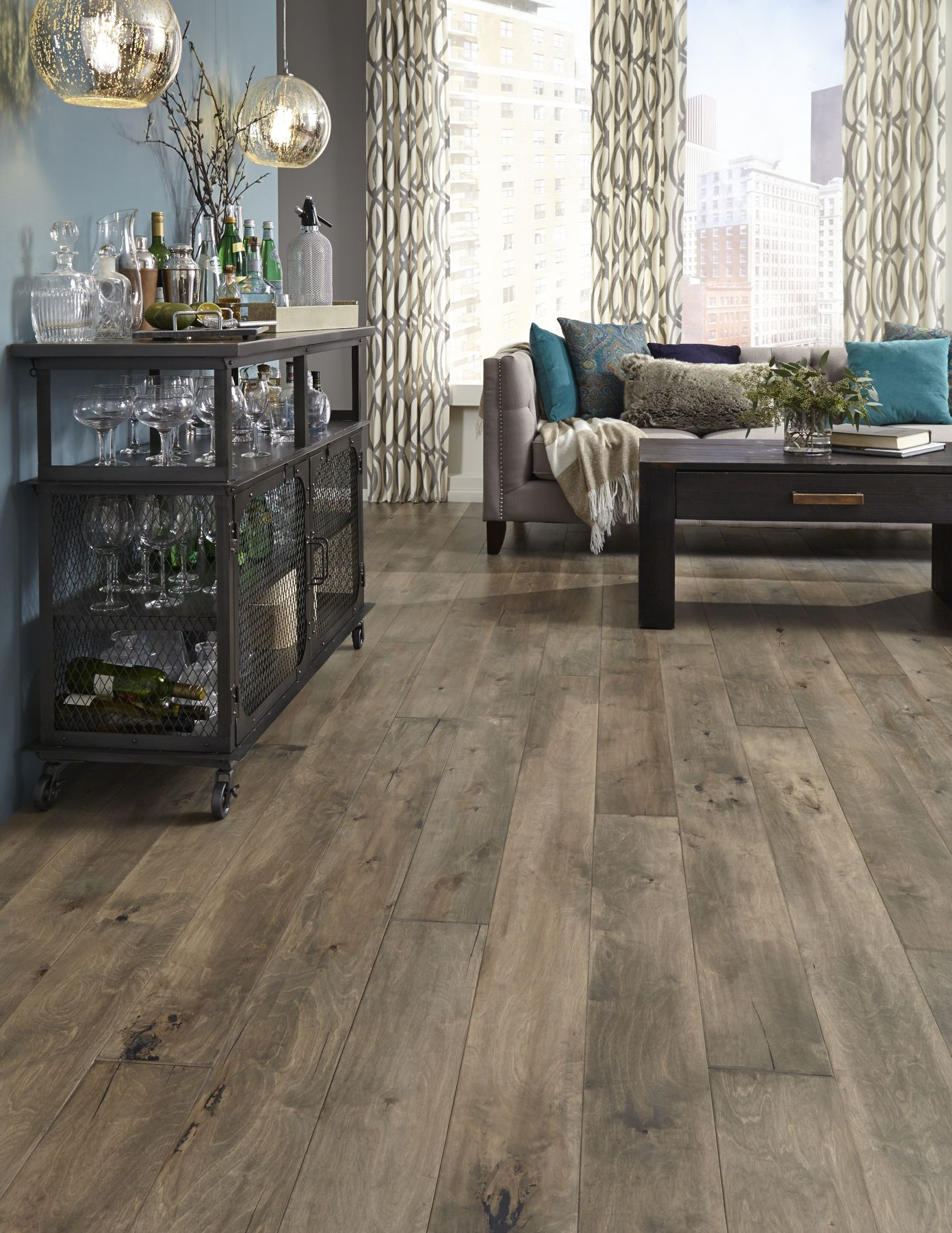 Iberian Hazelwood Is A Rustic Refined Hardwood Floor With Subtle Hand Planed Texture And Engineered Wood Floors Wood Floors Wide Plank Hardwood Plank Flooring