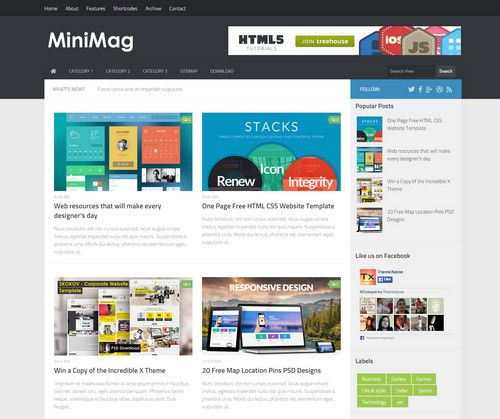 Minimag blogger template pinterest mobile responsive minimag blogger template pinterest mobile responsive corporate business and free flashek Choice Image