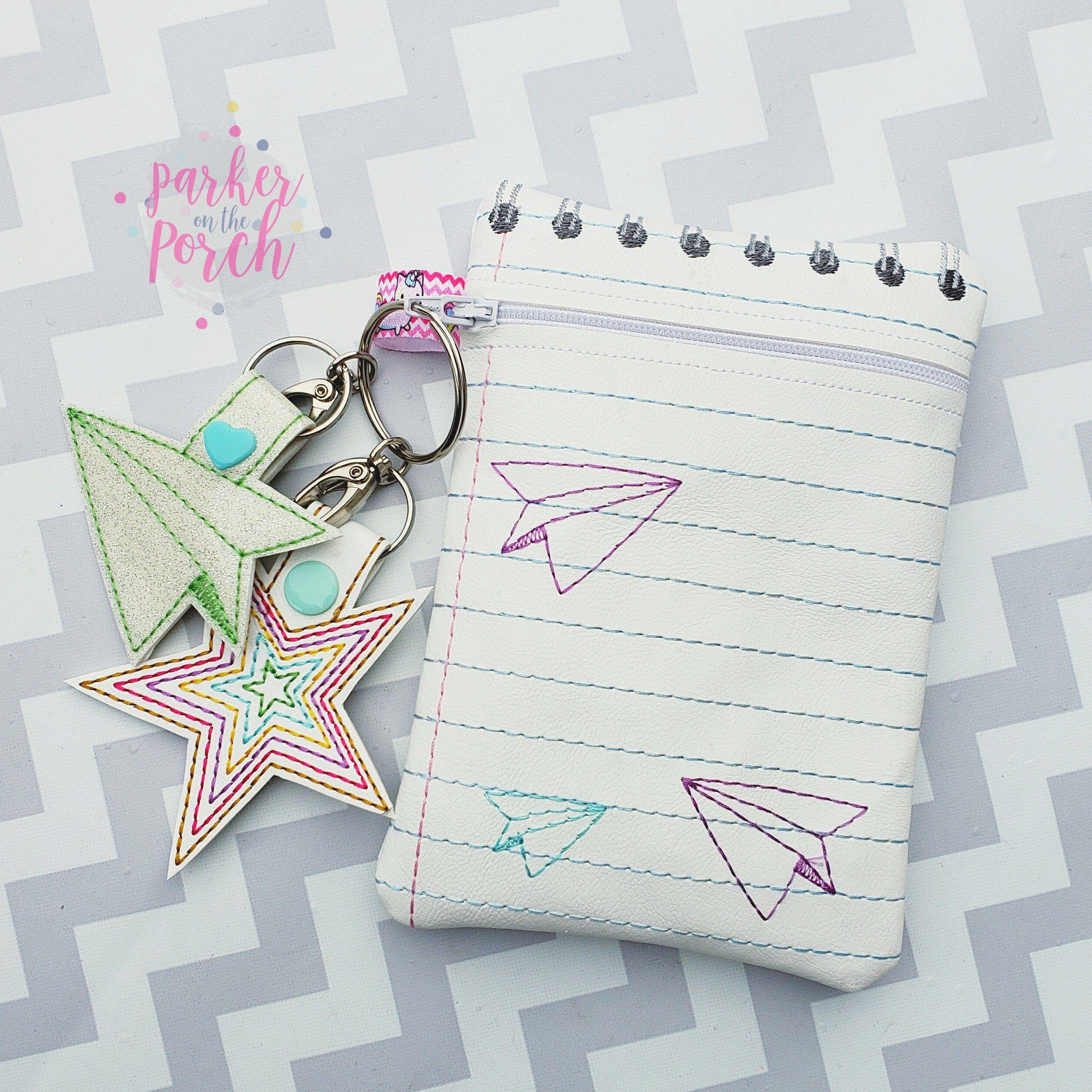Digital Download Notepad Zipper Bag Zipper bags