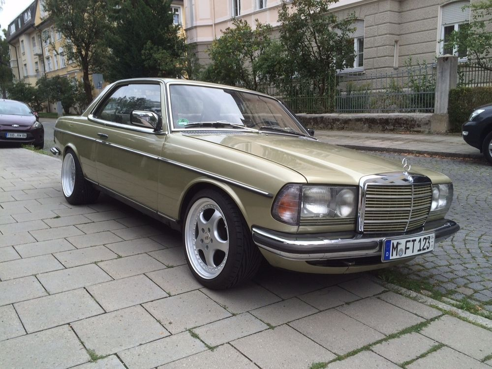 mercedes benz w123 coupe 230 ce baujahr 84 in auto motorrad fahrzeuge automobile mercedes. Black Bedroom Furniture Sets. Home Design Ideas