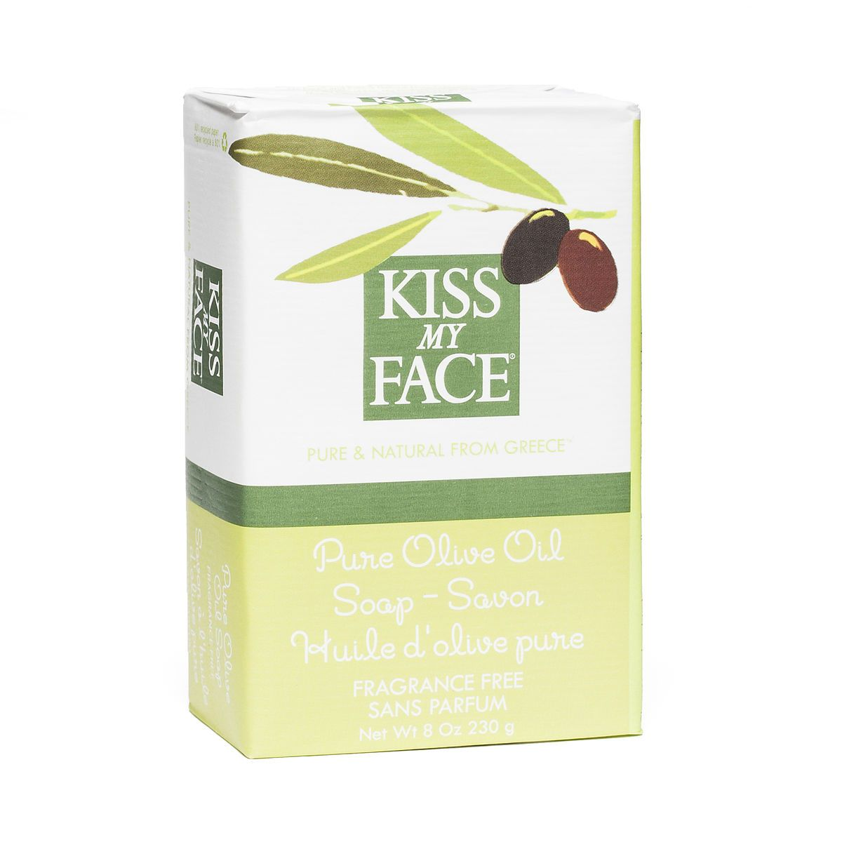 Kiss My Face Pure Olive Oil Bar Soap www.theteelieblog.com A natural cleansing and moisturizing soap. For centuries the people of the Mediterranean have recognized the benefits of Olive Oil to the skin. Long lasting and made from the purest natural ingredients, it is a superb moisturizer suitable for all skin types. It's simple and pure. #thrivemarket