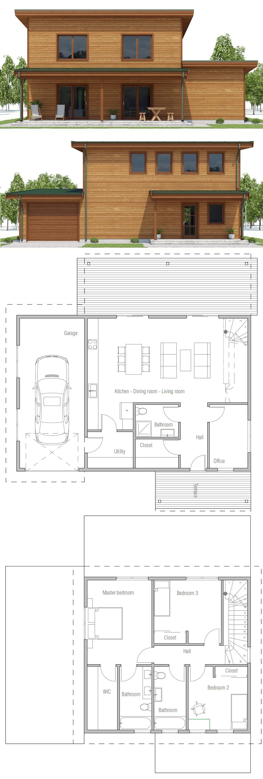 Affordable House Plan Small House Plan Home Plan Affordable House Plans Affordable House Design Small House Architecture