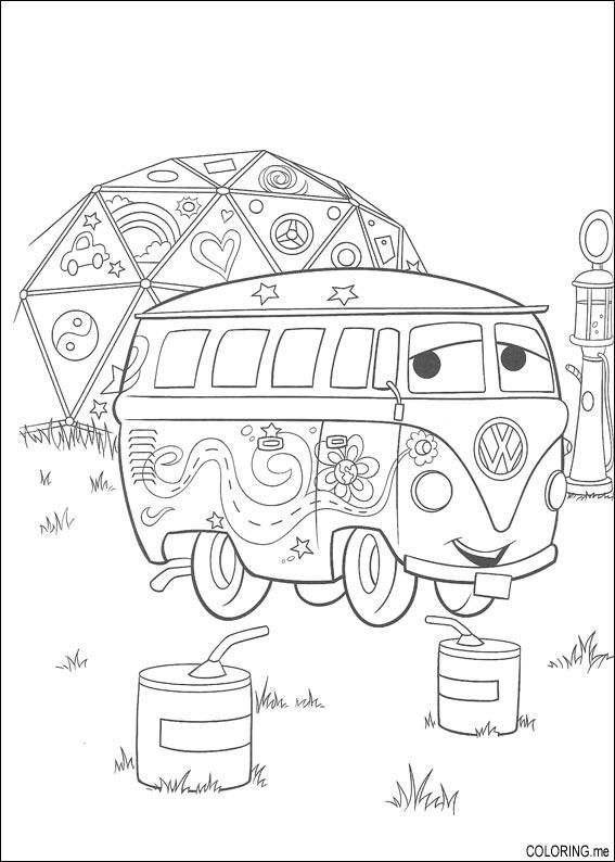 groovy bus coloring page - Google Search