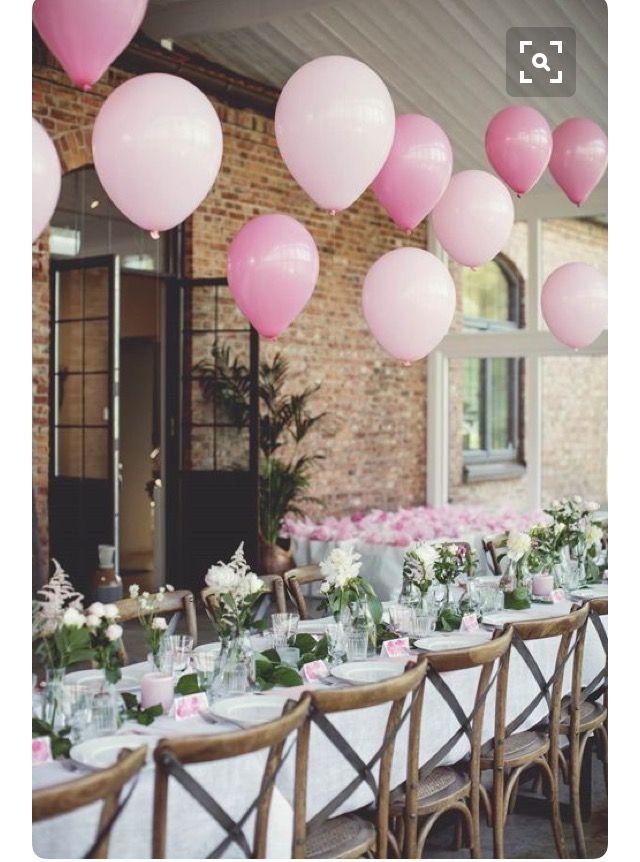 Pin von Lea Hohmann auf Wedding Inspo  Ballons hochzeit