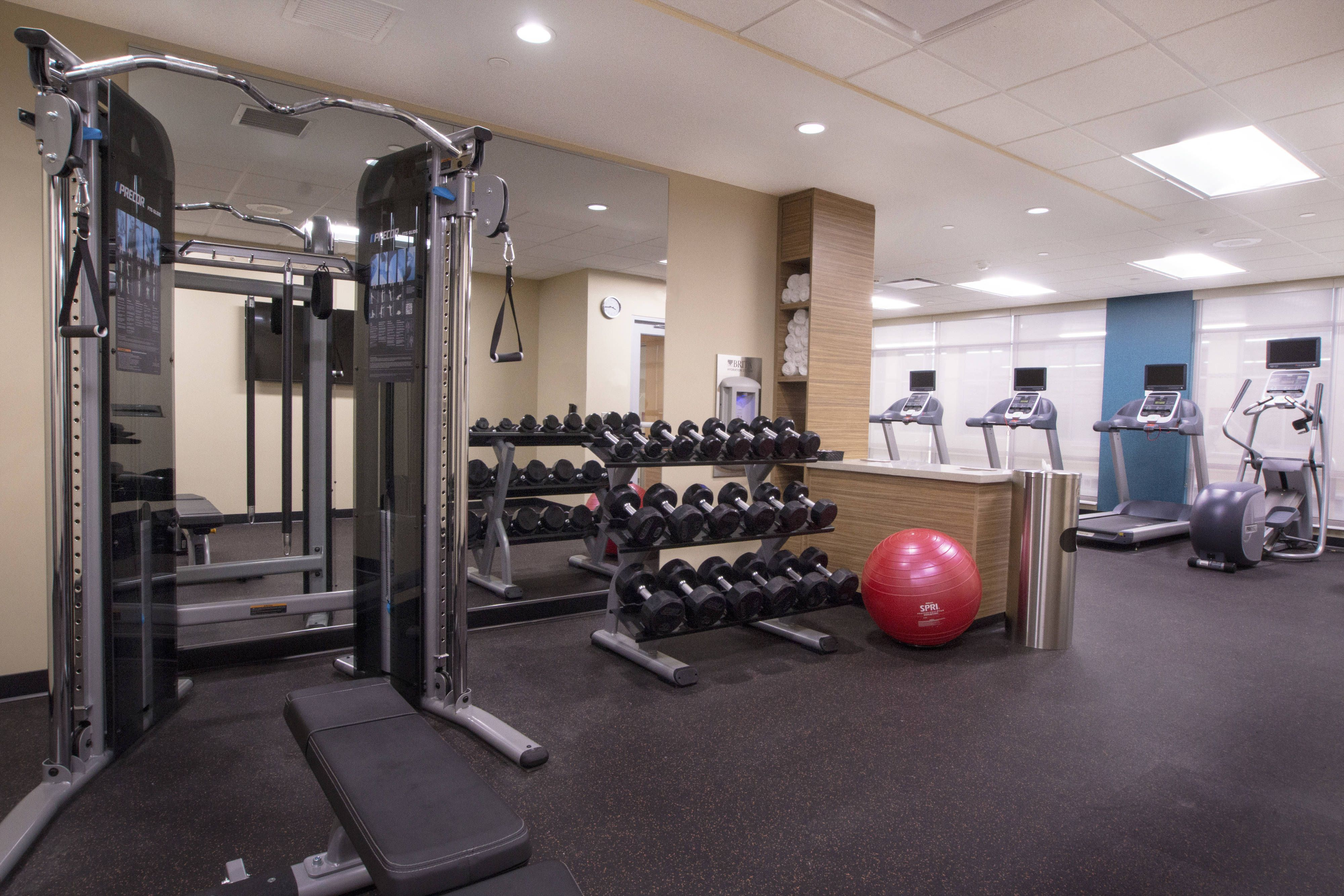 TownePlace Suites Pittsburgh Cranberry Township Fitness
