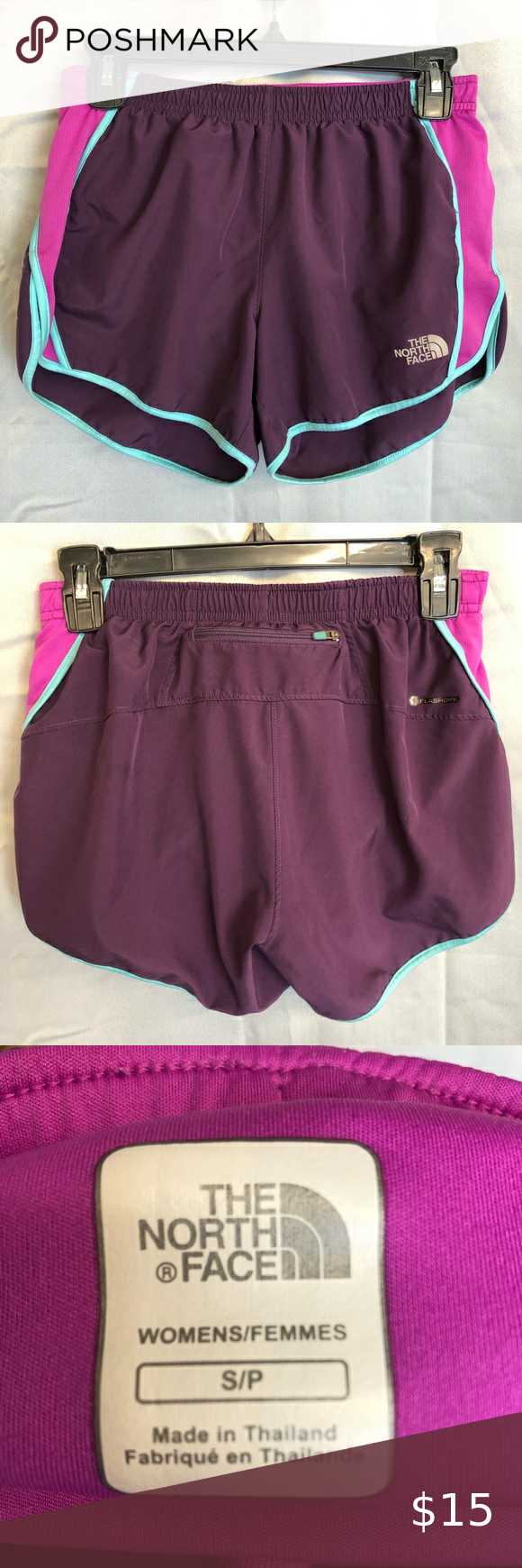Purple North Face Athletic Shorts In 2020 North Face Shorts