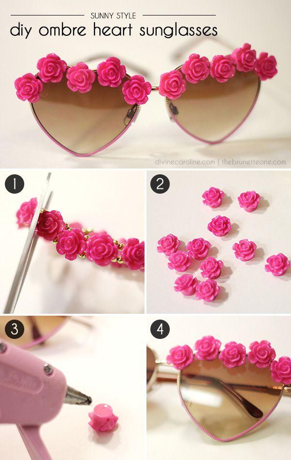 Sunny Style! DIY Embellished Sunglasses | Festival