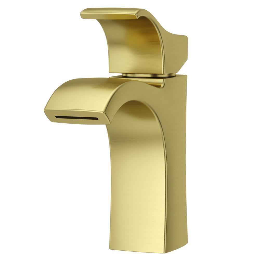 Pfister Venturi Single Hole Single Handle Bathroom Faucet In Brushed