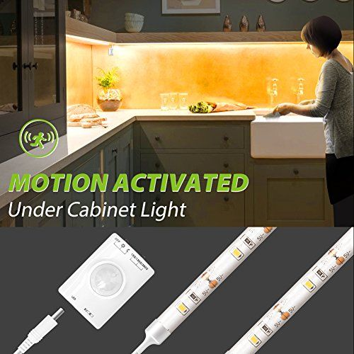 Motion Activated Kitchen Under Cabinet Light Megulla Mot Https Www Amazon Com Dp B Under Cabinet Lighting Cabinet Lighting Kitchen Under Cabinet Lighting