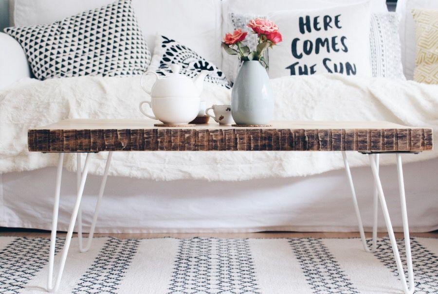 Couchtisch Selber Machen retro couchtisch selber bauen hairpin legs living rooms and room