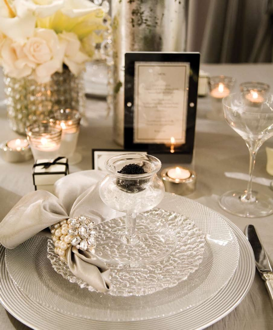 vintage wedding ideas | hollywood glamour theme decor pics