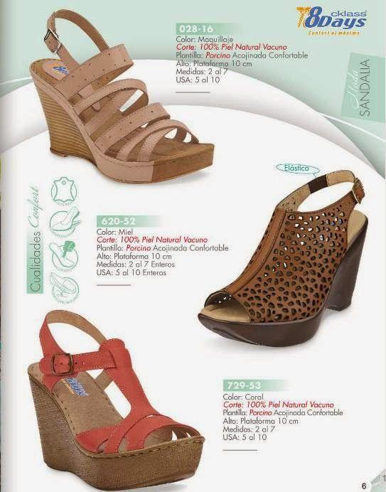 e357971a Cklass Catalogo de Zapatos Confort 8Days PV 2015 | Sandalias y ...