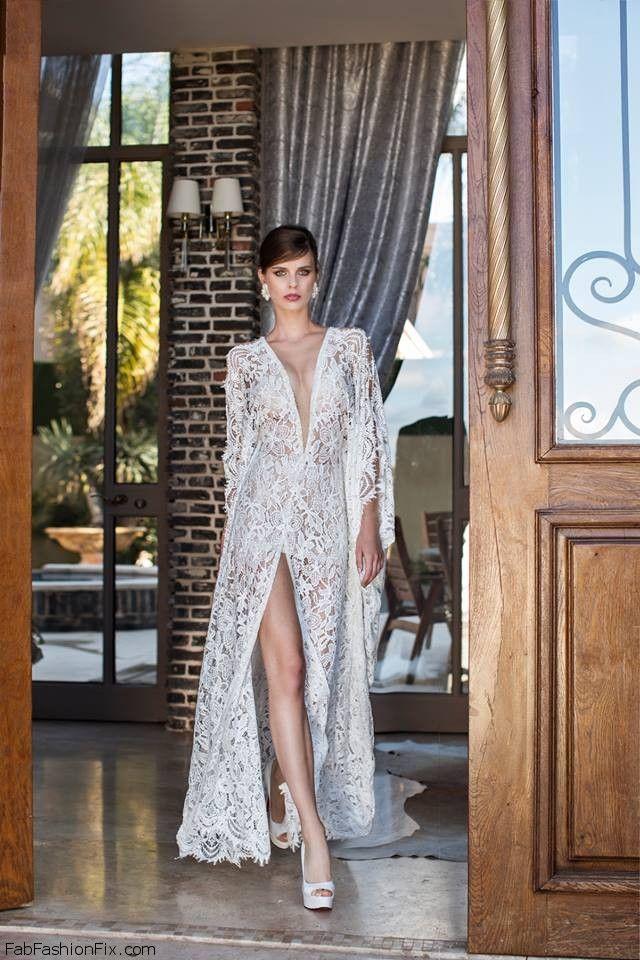 Nurit Hen 2015 Bridal collection. #wedding #bridal #nurithen