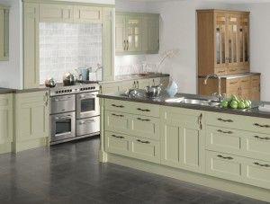 Dark Sage Green Kitchen Cabinets