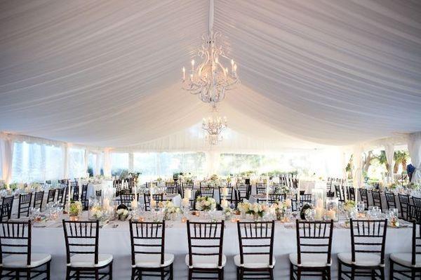 Elegant Modern Wedding Tent Decoration & Elegant Modern Wedding Tent Decoration | Wedding Style | Pinterest ...