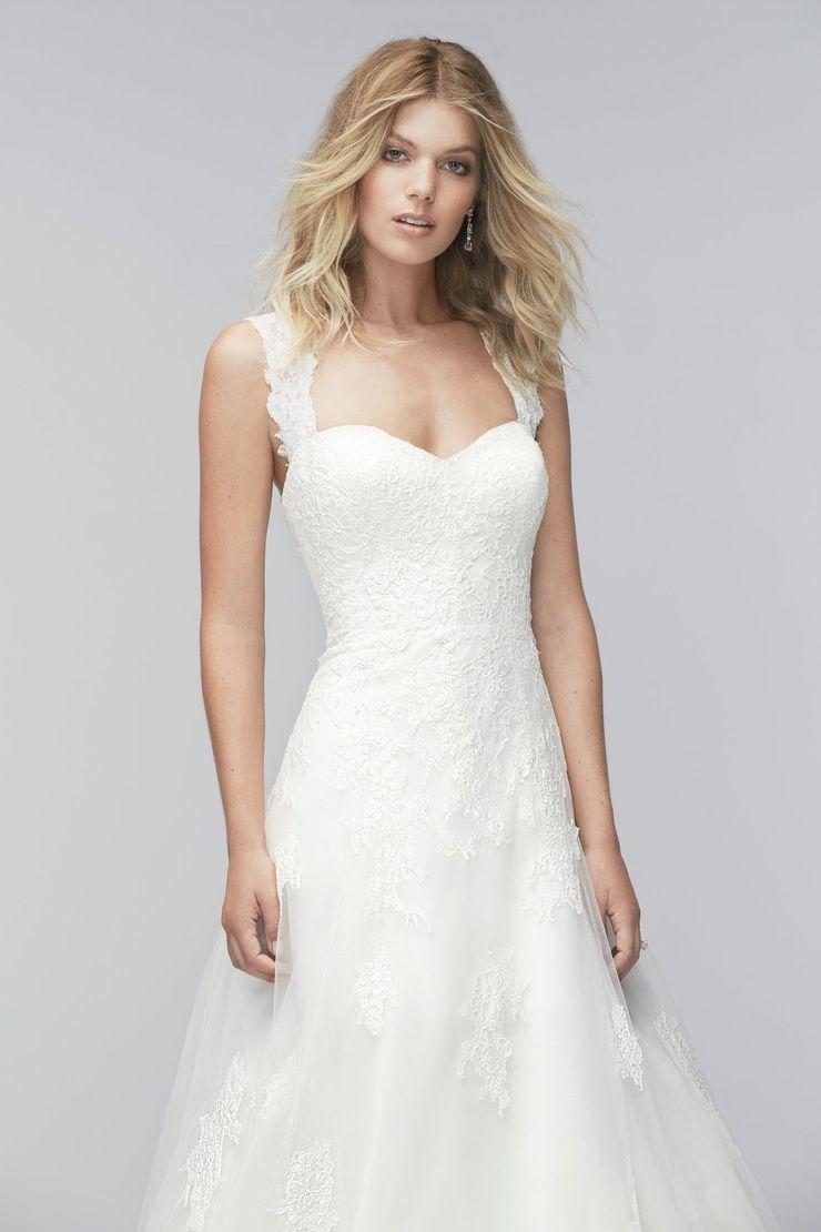 Add on sleeves for wedding dresses  Angeline  Watters  Mr u Mrs   Pinterest