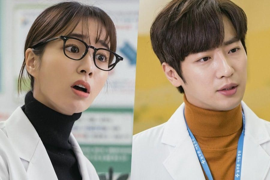 "Lee Min Jung And Lee Sang Yeob Glare Daggers At Each Other In Upcoming Drama ""Once Again"""