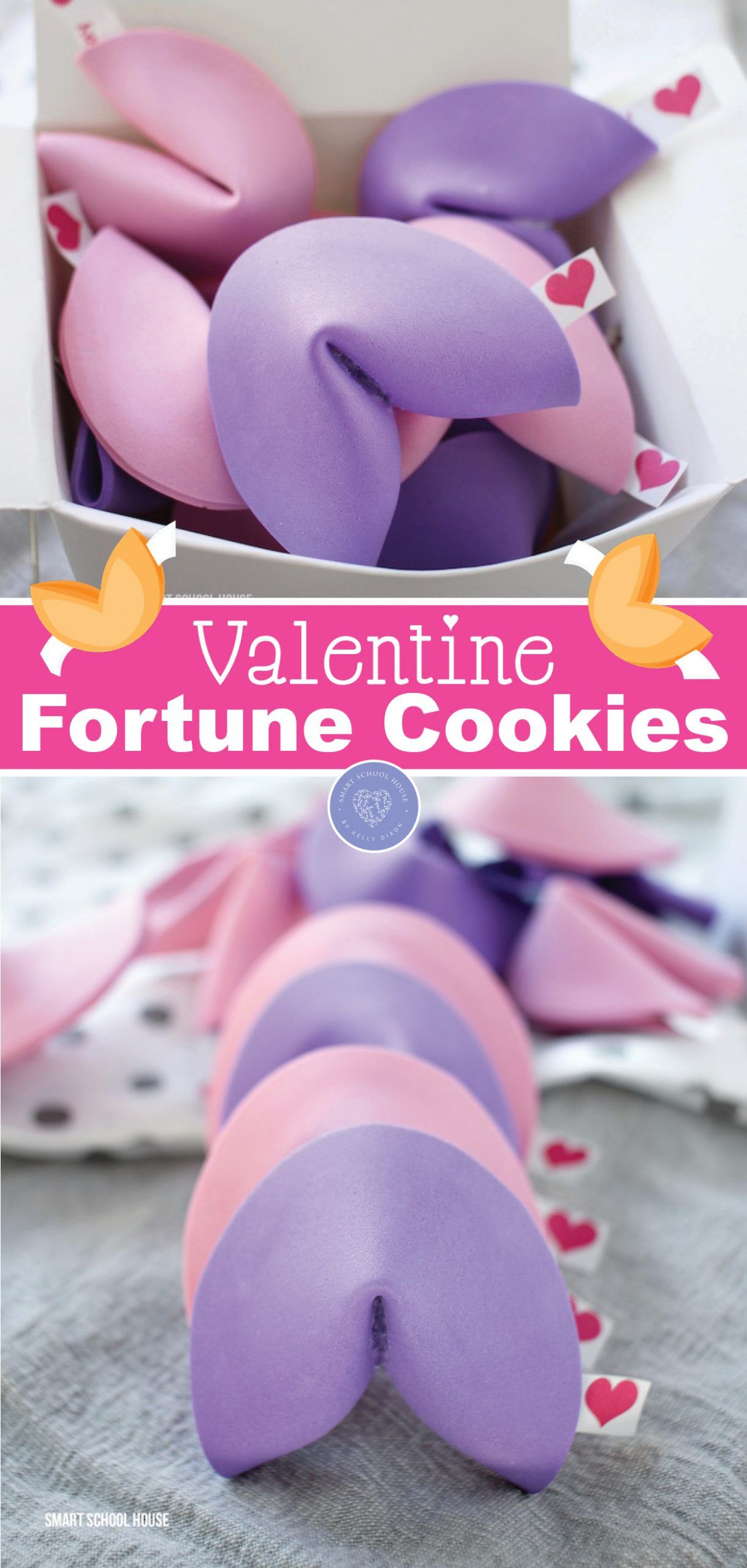 How to Make Valentine Fortune Cookies for Valentine's Day!