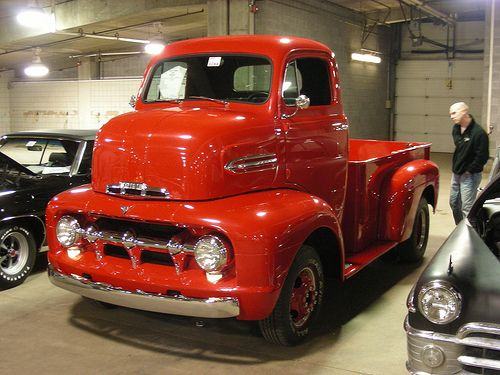 1951 Ford COE a