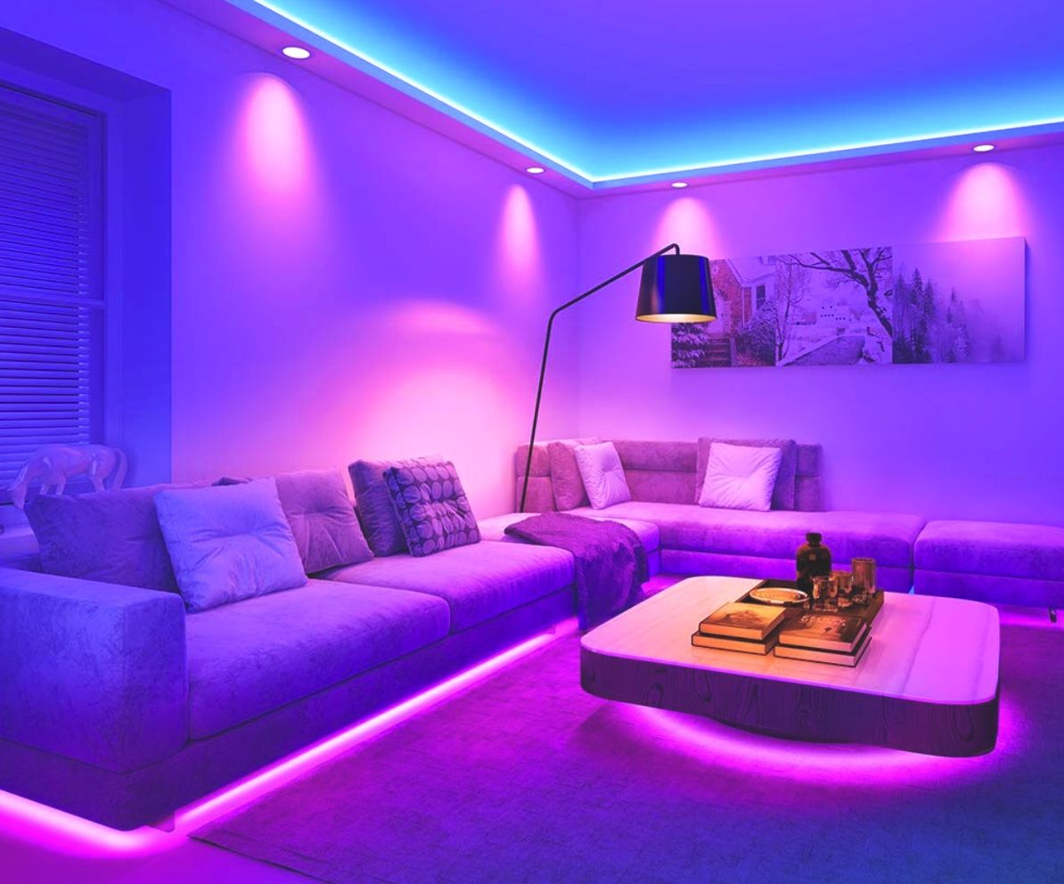 Led Strip Lights In 2020 Chill Room Room Ideas Bedroom Led Lighting Bedroom