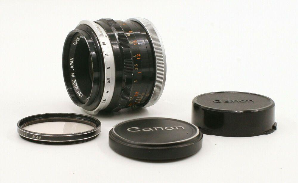 Canon FL 50mm F1.8 Lens For Canon FD Mount! Good Condition! #Canon