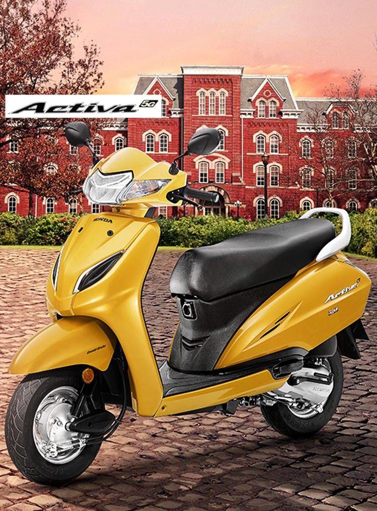 New Honda Activa 5G specs New honda, Honda, Old bikes