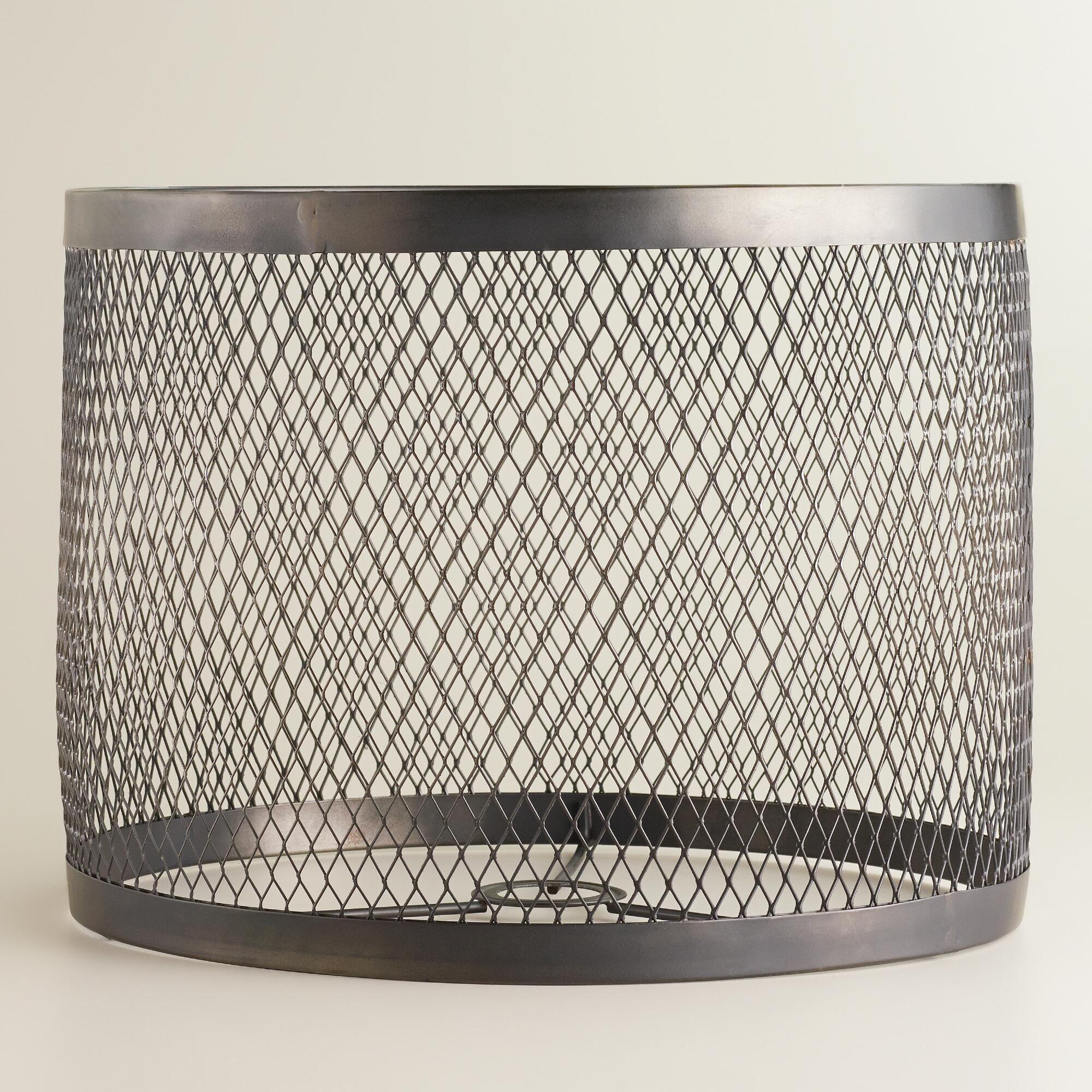 Riveted Table Lamp Shade