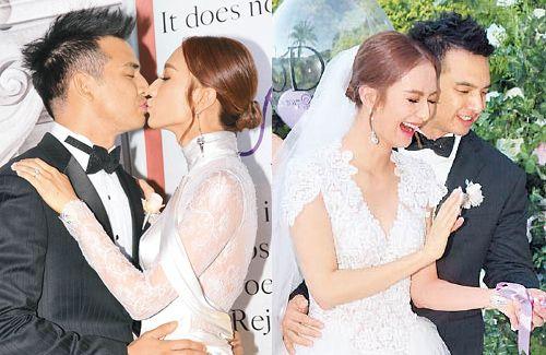 20d1d14fc5fb Grace Wong Holds Wedding Banquet in Hong Kong   Asian Celebrity News ...
