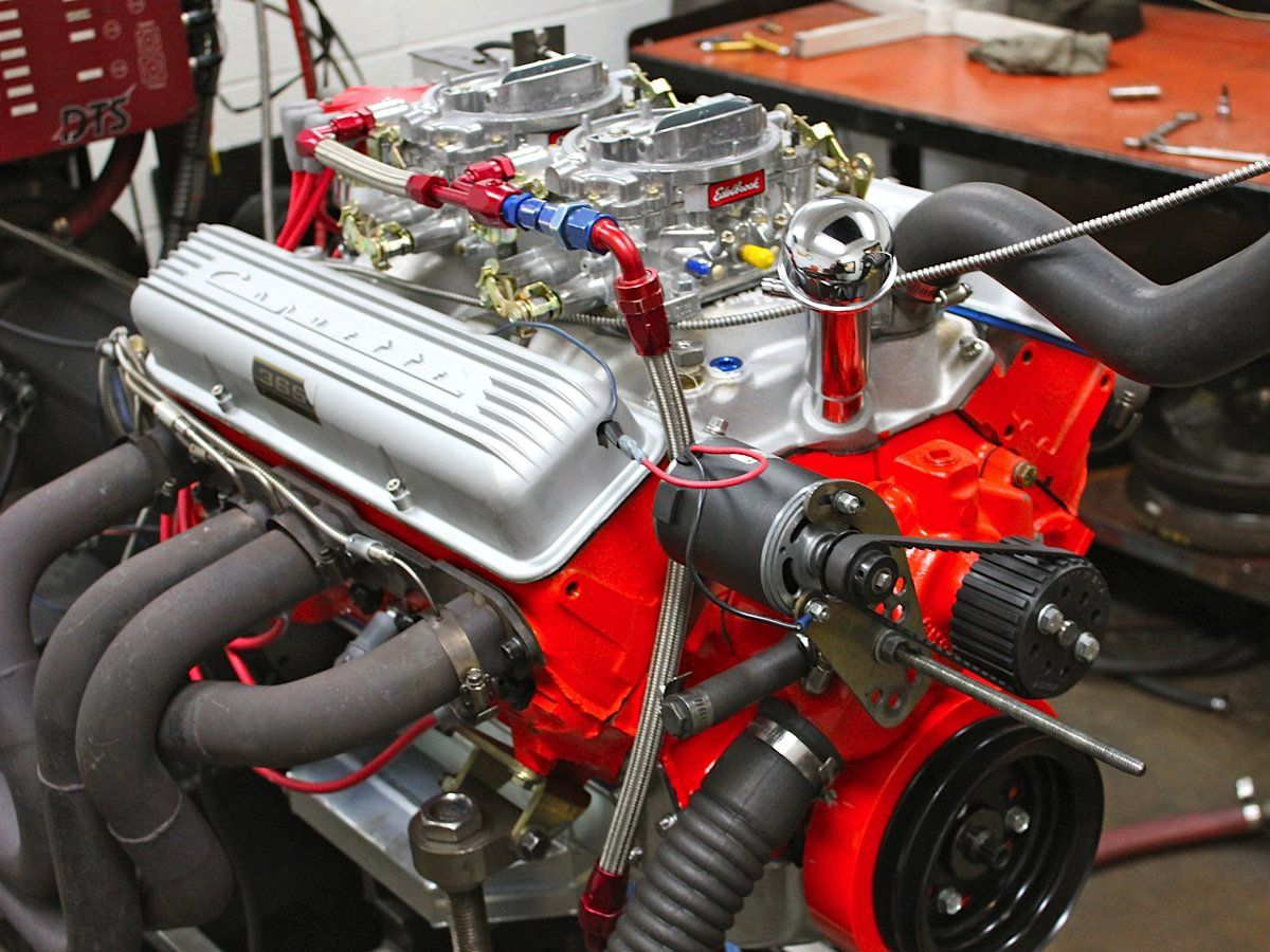Inside A 327ci Small Block Chevy Recreated For A Cheetah Chevy