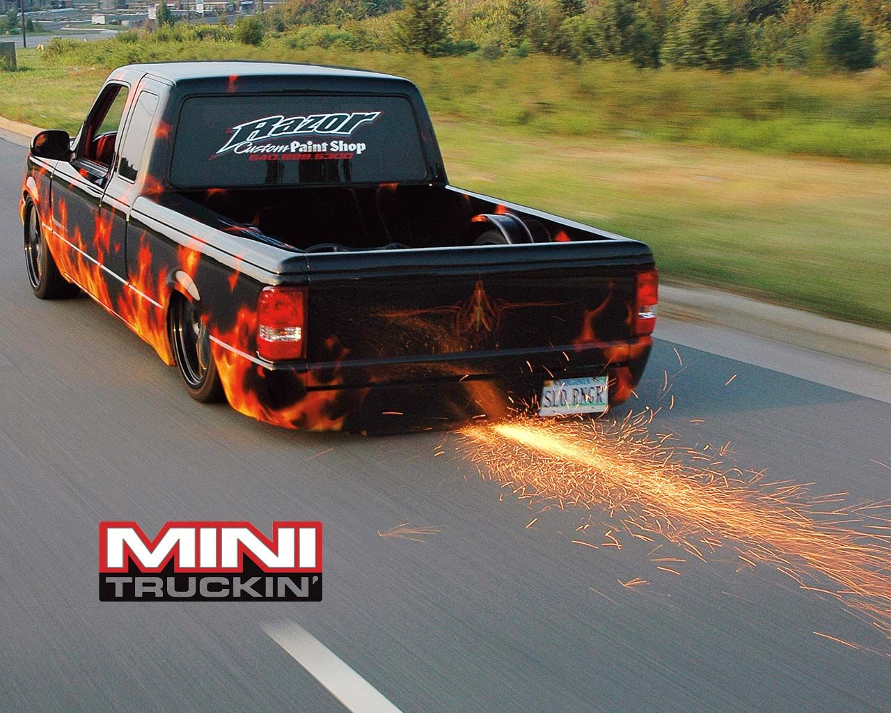 Image detail for -... 1280x1024 Cars, Trucks, Lowrider, Mini, Custom, Truck, Ford, Ranger