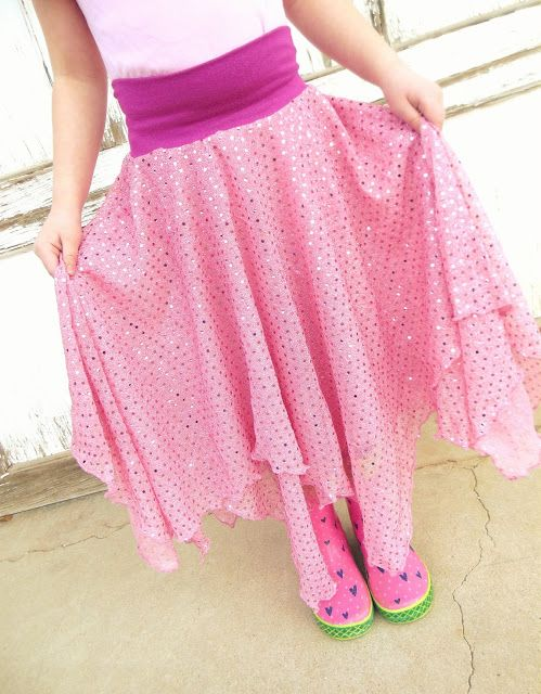 hazel and company: twirly dance skirt tutorial | craft | Pinterest ...