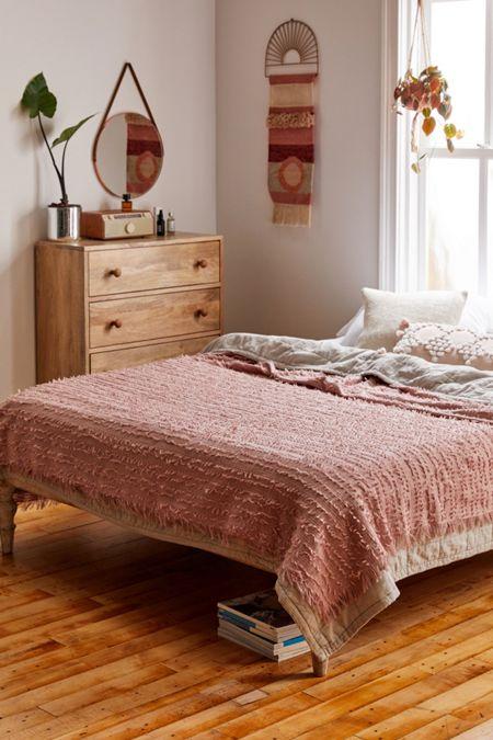 Winnie Eyelash Coverlet in 2020 Vintage bedroom decor