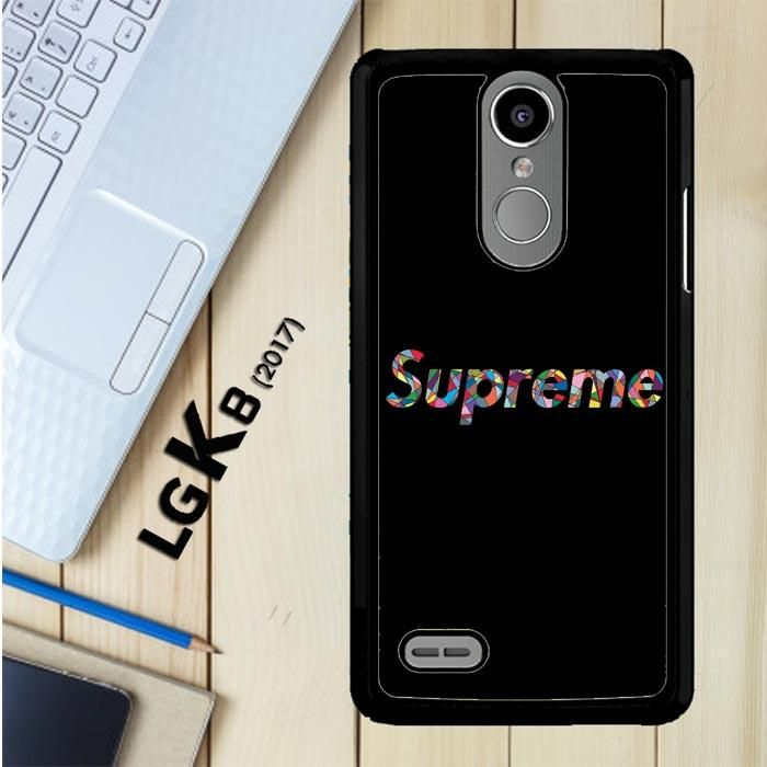 Supreme Logo O0728 Lg K8 2017 Aristo Risio 2 Fortune Phoenix 3 Case